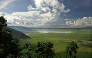 Cráter del Ngorongoro. Safari Artístico AFRICA ETERNA. Diego Ortega Alonso Paleolitico Vivi Kenia Tanzania 2018